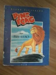 Álbum Rei Leão Ping Pong