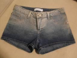 Short jeans Mofficer com elastano