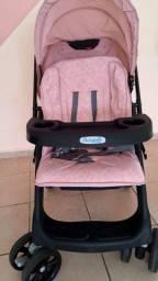 Carrinho para bebê burigoto semi novo
