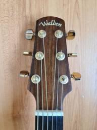 Walden d600 folk tampo solido jacaranda bband fender Gibson takamine crafter