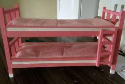 Beliche de madeira para  Barbie
