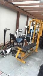 Academia musculação aparelho academia estação musculacao