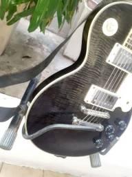 Belíssima les paul guitarra Condor clp toda no mogno AAA!!oportunidade!!super guitarra!!