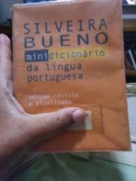 Mini dicionário Silveira Bueno ano 2000