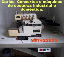 Máquina de costura Overloque 4 fios
