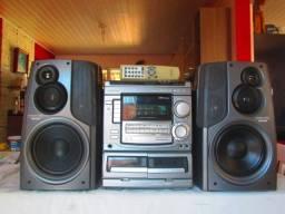 Aiwa NSX s505 com caixas do s90 entrego e parcelo