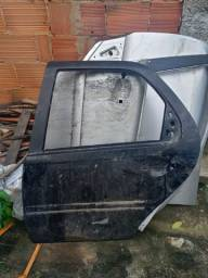 Porta traseira esquerda Fiat Palio Siena BBB 2009 2010 2011 2012