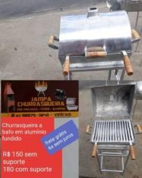 churrasqueira em aluminio fundido entrega gratis
