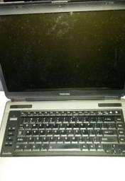 Notebook Toshiba Satellite A135 com defeito.