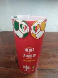 Copo Coca cola Copa do Mundo 2014 México x Camarões