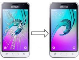 Vidro da Tela para Samsung J3 J320 2016, Mantenha a Originalidade do seu Estimado Celular!