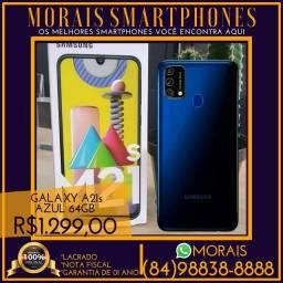 (PREÇO PROMOCIONAL) Samsung M21s 64Gb Azul (NOTA FISCAL E GARANTIA DE 01 ANO)
