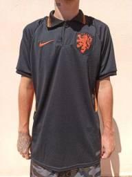Camisa da Holanda Pólo 2021/22