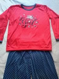 Pijama Inverno Feminino