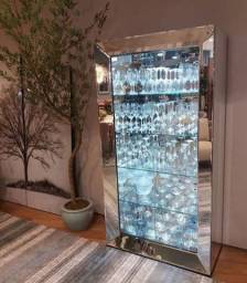 Título do anúncio: Cristaleiras Espelhadas