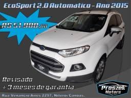 Ford EcoSport Freestyle 2.0 - Ano 2015 Automático