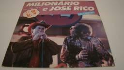 LP Vinil - Milionário e José Rico- Sonhei com você / ano: 1989 - 12 musicas