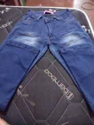 Calça jeans fem Tam 42