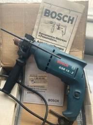 Furadeira elétrica e parafusadeira bosch professional gsb 16re 3250rpm 750w 110v