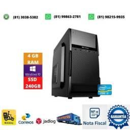 Título do anúncio: Computador i3 lga 1155 + memoria 4gb ddr3 + fonte 200w + ssd 240gb