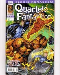 Heróis Renascem - Quarteto Fantástico n. 1   [Marvel | HQ Gibi Quadrinhos]