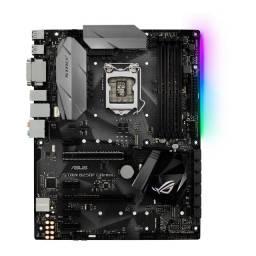Placa Mãe Asus Rog Strix B250f Gaming 6 E 7 Geração Intel