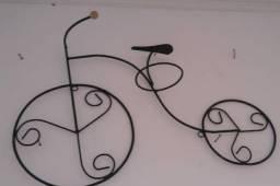 Floreira bicicleta de parede