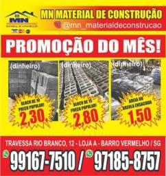 Areia e Areola A preço popular R$1,50