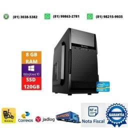 Título do anúncio: Computador i3 lga 1155 + memoria 8gb ddr3 + fonte 200w + ssd 120gb