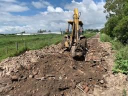 Retro Escavadeira (4 X 4)