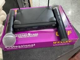 Microfone UHF
