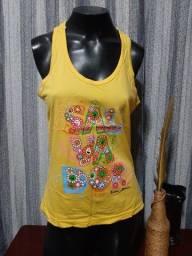 Título do anúncio: Blusa em Malha Amarela  NOVA - Tam. G