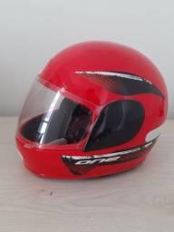 3 capacetes FLY  ótimo estado seminovos zero