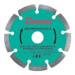 Título do anúncio: Disco De Corte Diamantado 110mm Segmentado Eco - Cortag