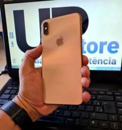 Iphone XS max 64gb Gold novíssimo saude bat.91%