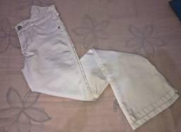 Vendo Calça Flare branca nova