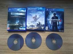 Jogo PS4 Original na Caixa (Uncharted 4)