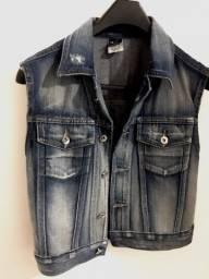 Título do anúncio: Colete jeans feminino