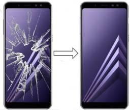 Vidro da Tela para Samsung A8 2018 A530, Mantenha a Originalidade do seu Estimado Celular!