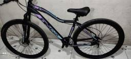 Bike Aro 29 Full Alumínio com nota fiscal