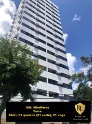 Alugo Apartamento na Torre, 56m², 02 quartos (01 suíte)