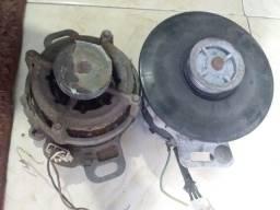 Dos motores de máquina de lavar