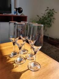 Taças em vidro (unidade)