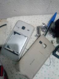 Samsung J1 mini com marcas de uso