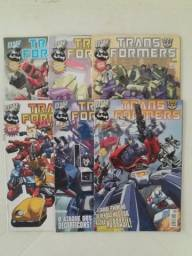 Hqs gibis revistas em quadrinhos -transformers