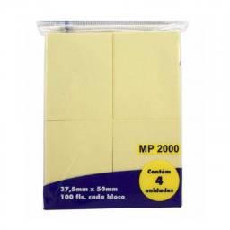 (WhatsApp) bloco adesivo para anotações - 37.5mm x 50mm c/ 4 und