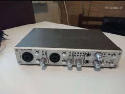Placa de áudio M áudio fare ware 410