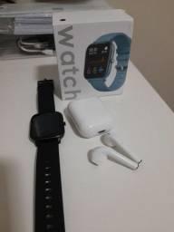 Smartwatch + Fone Bluetooth