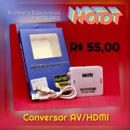 Conversor AV/HDMI