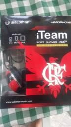 Adap fone produto original licenciado Flamengo todos celulares